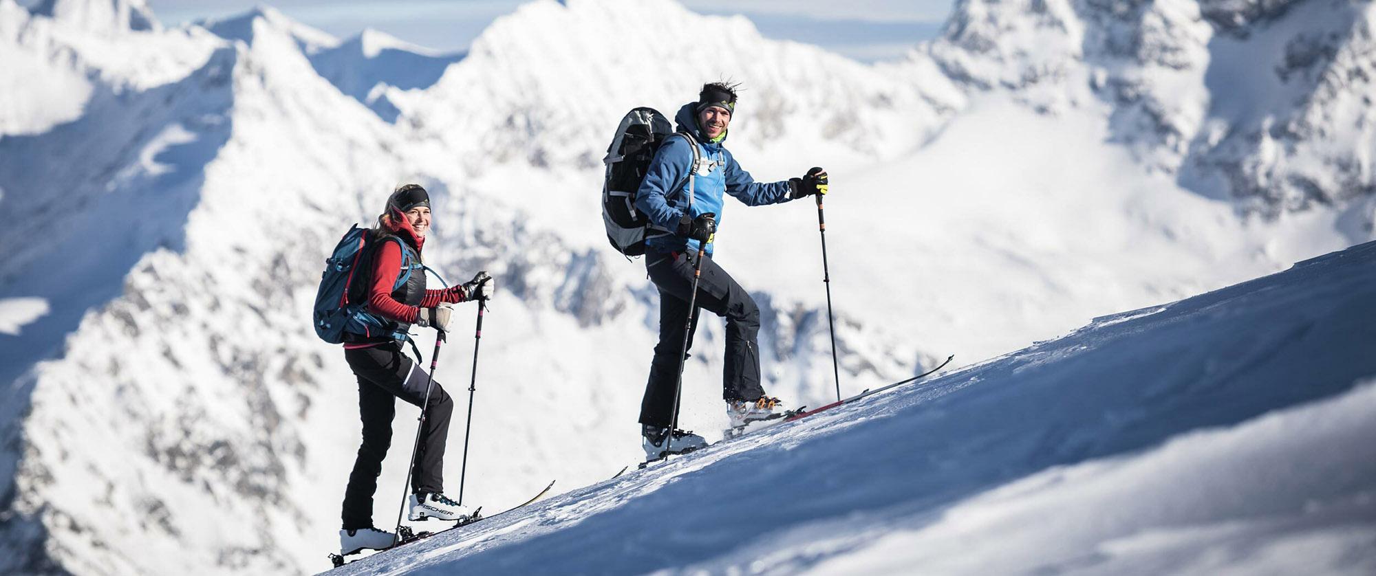 Komperdell Skitouren