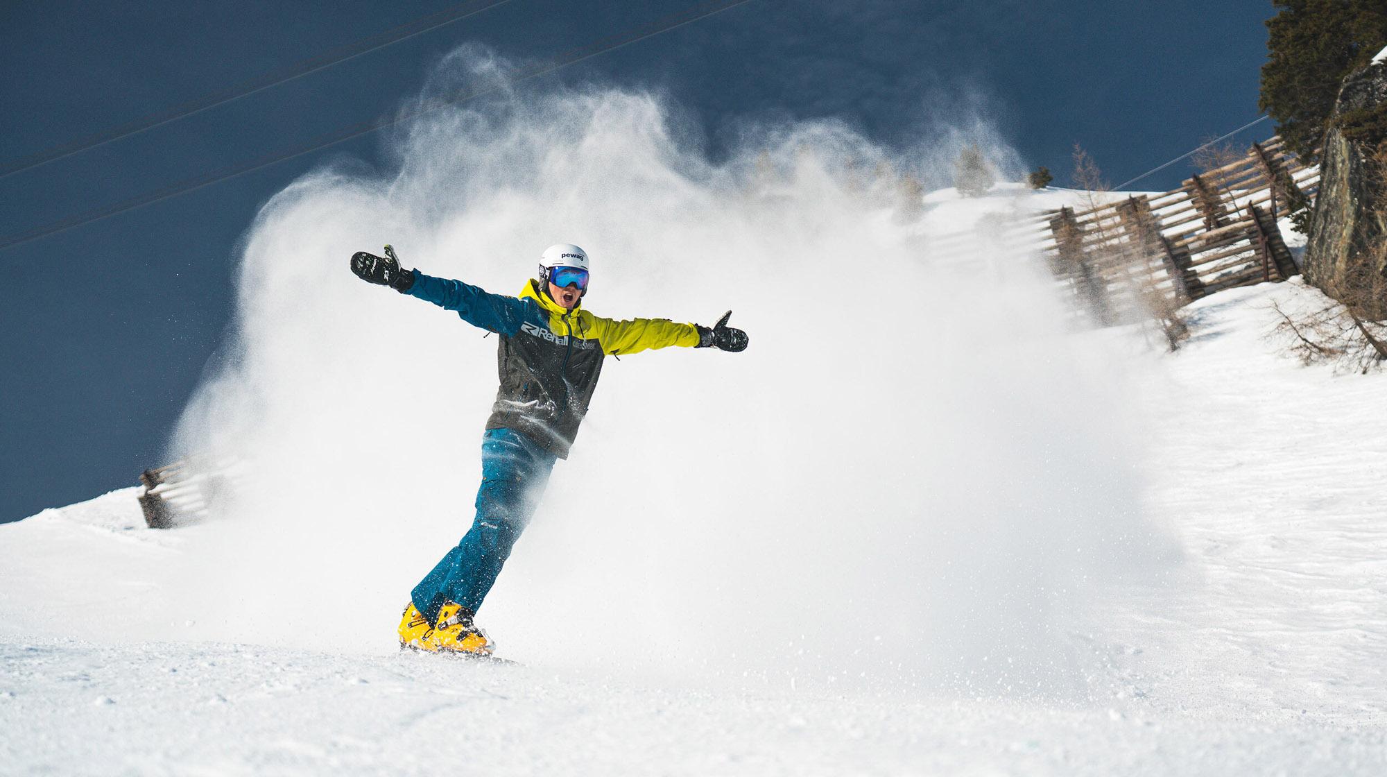 Komperdell-Snowboard Arvid Auner